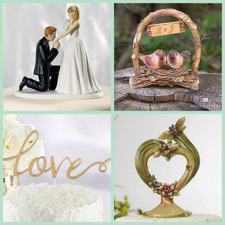 Wedding Cake Toppers from HotRef.com