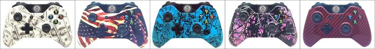 Our Hydro Dipped Modded Controllers Xbox one