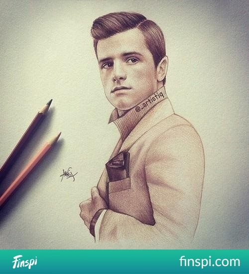 Peeta to_artistiq #drawing #art #olympic death #creative
