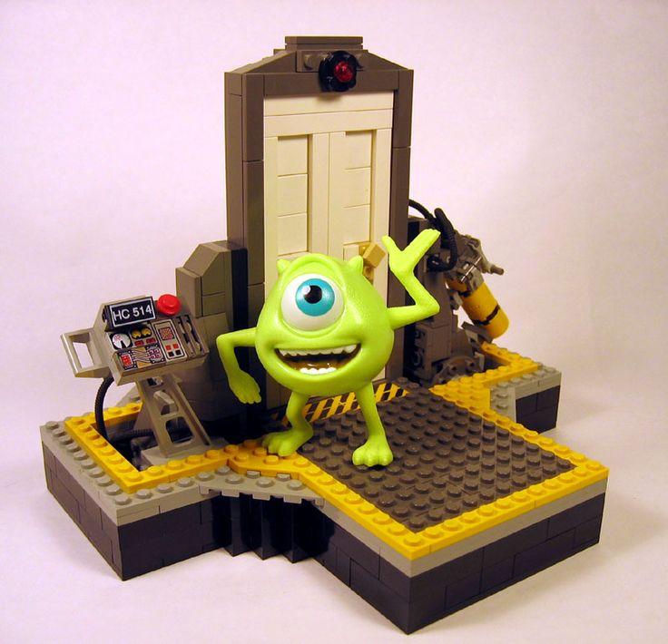 Monsters Inc Lego vignette