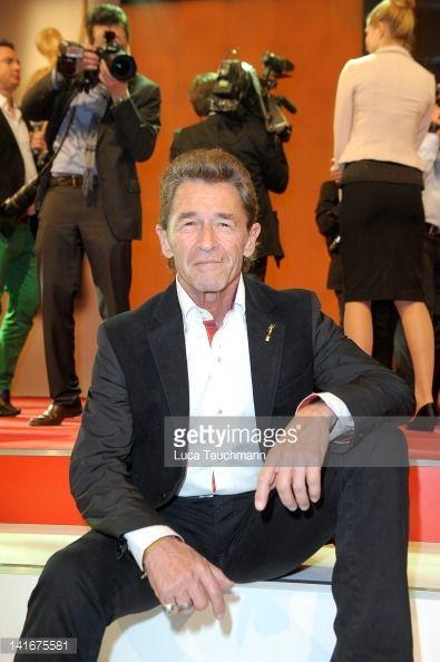 Peter Maffay attends the 'Goldene BILD der FRAU Award' at Axel Springer Haus on March 21, 2012 in Berlin, Germany.