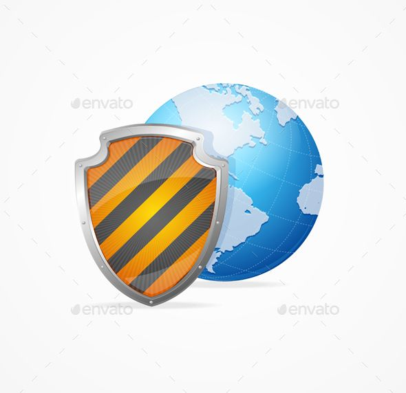 Global Safety Concept by mousemd Global Safety Concept Isolated on White Background. Defense World. Vector illustration. Vector EPS10 file fully editable. PNG imag