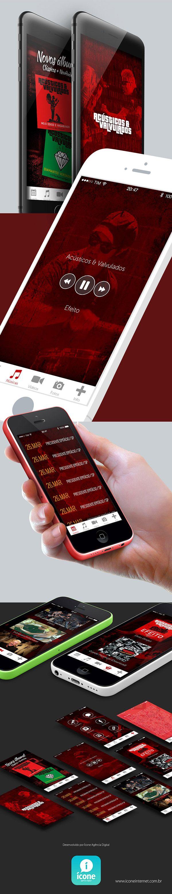 Acústicos & Valvulados - App on Behance