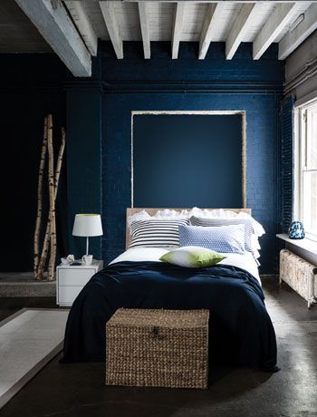 Moody walls. http://homestrendy.com/interior-design-trends-moody-walls