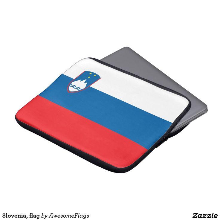 Slovenia, flag laptop computer sleeves