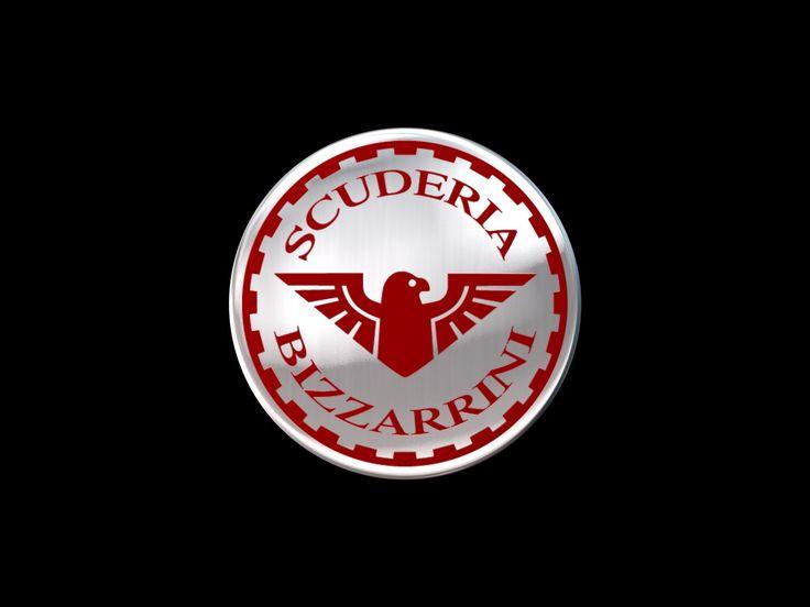 Scuderia Bizzarrini 3D logo rebuild for Bizzarrini p538 concept prototype.