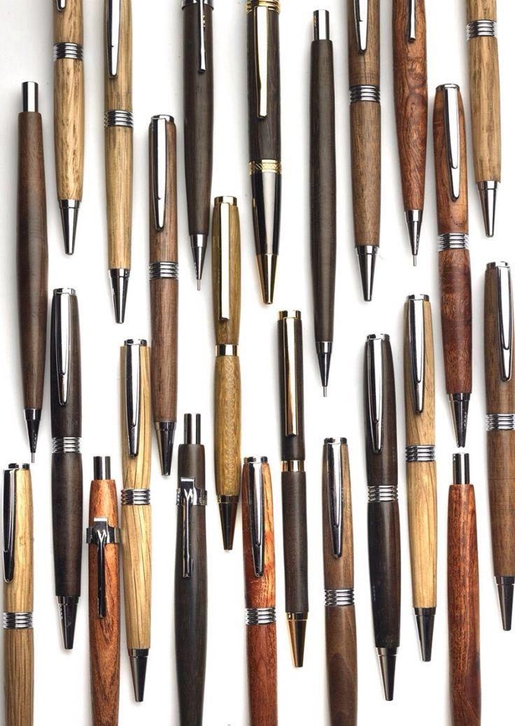 Wood pen