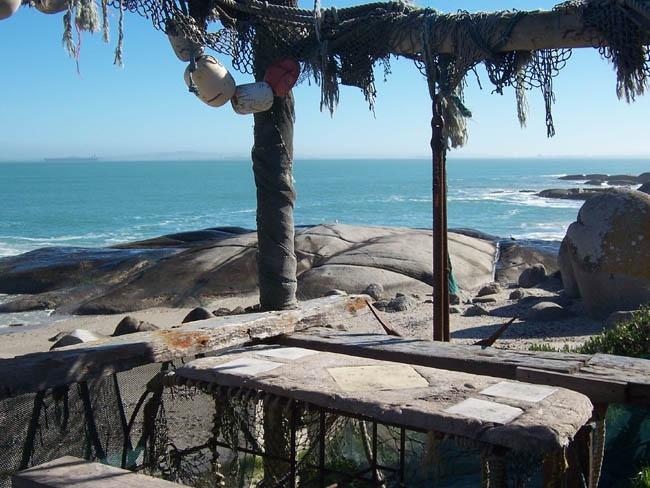 Standloper fish restaurant. Langebaan, Western Cape.