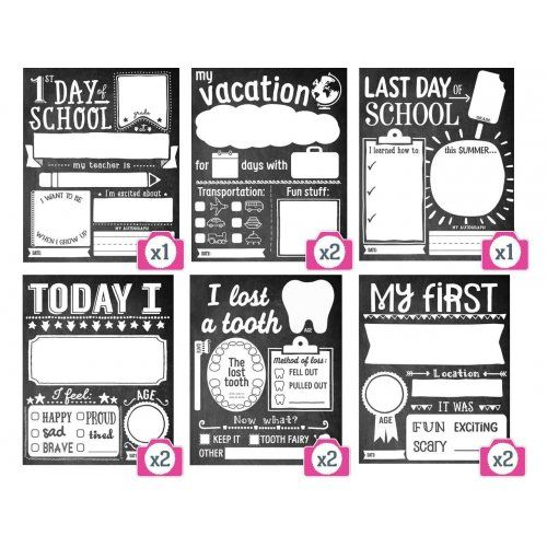 From the first day of school to the last (and all the super fun milestones in between), capture your child's biggest moments with these ten (10) Picture Me Proud Memory Cards by Sticky Bellies!we made them cute. you make them yours! Little Boo-Teek - Sticky Bellies Picture Me Proud Memory Cards   Baby Gifts   Baby Store Online
