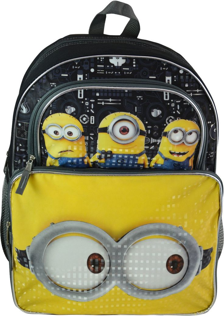 "Wholesale Backpacks Despicable Me 3 16"" Cargo Backpacks - 48 Units"