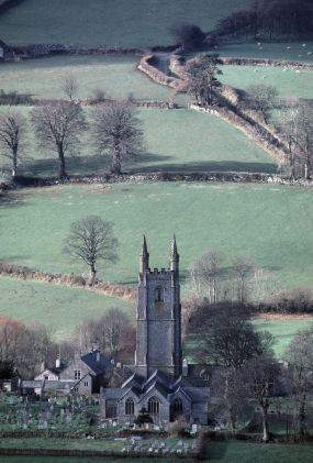 Widecombe on the Moor - Dartmoor Devon UK
