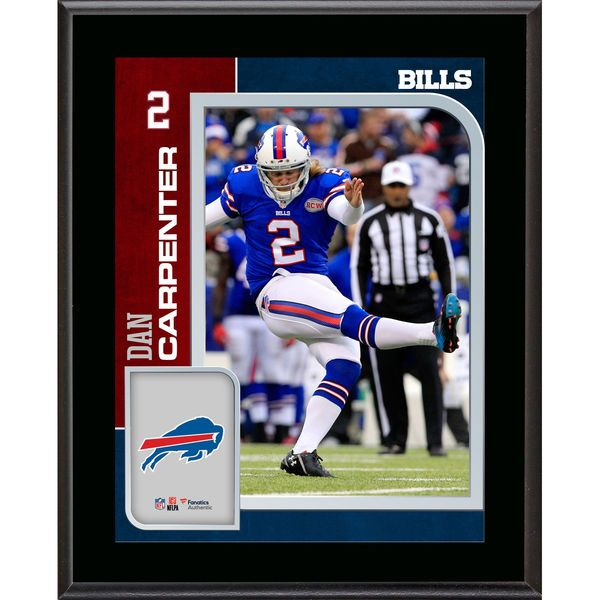 Dan Carpenter Buffalo Bills Fanatics Authentic 10.5'' x 13'' Sublimated Player Plaque - $29.99