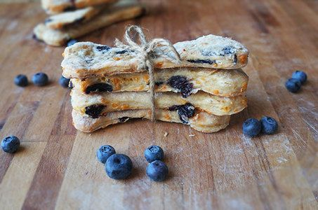 Blueberry and Banana Dog Cookies