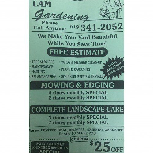 Lamu0027s #Gardening And #Landscape Home #Services   #SanDiego, CA At #