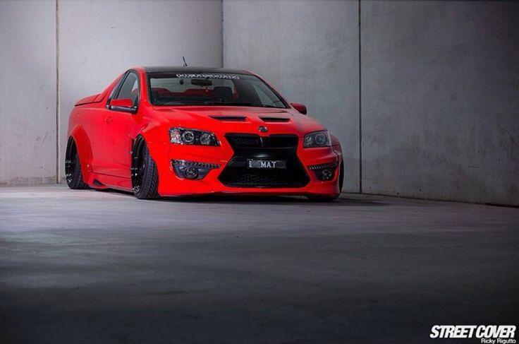 ◆ Visit MACHINE Shop Café... ◆ ~ Aussie Custom Cars & Bikes ~ (Holden Commodore Custom Ute)