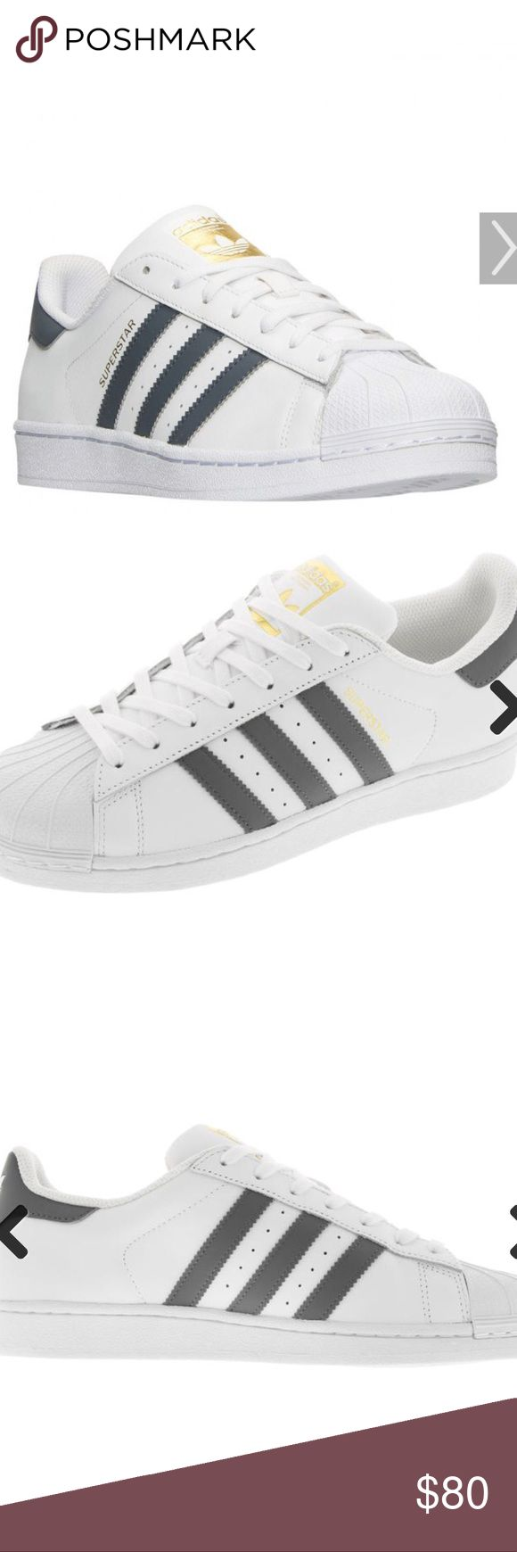 Adidas SUPERSTAR Foundation White/Onix MENSBY3714 Men\u0027s Adidas Originals SUPERSTAR  Foundation White/Onix Gold