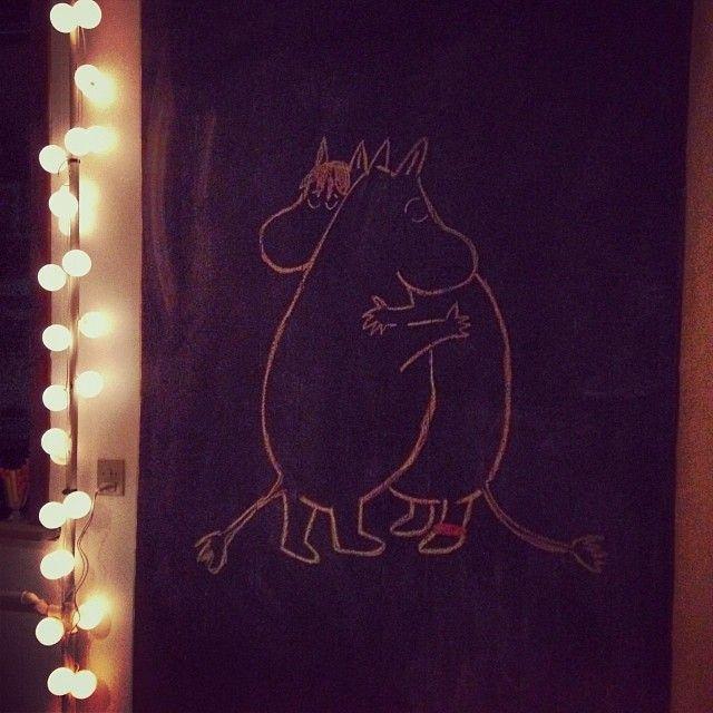 Moomins in my living room.