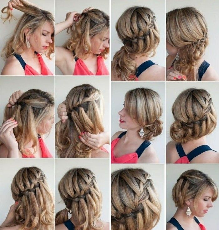 1001 Ideen Wie Sie Effektvolle Hochsteckfrisuren Selber Machen Frisur Hochgesteckt Hochsteckfrisur Frisuren Kurze Haare Selber Machen