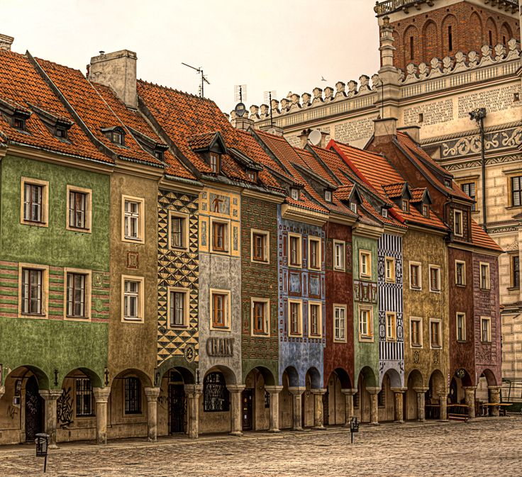 Old Market; Poznan, Poland