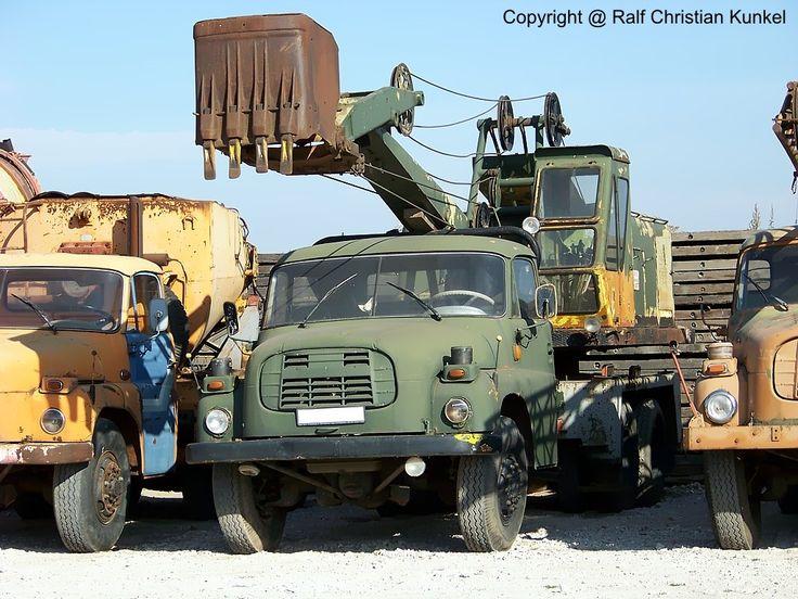 tatra ddr | Tatra 148 D 032 A - Autobagger, NVA, Pioniertechnik - fotografiert zum ...