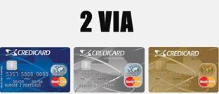 2 via Credicard - Cartão Fatura