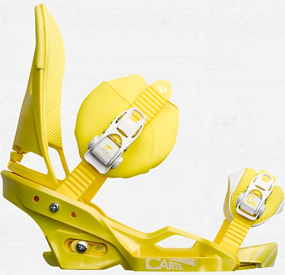 Locked and loaded with these in 2012 - Cartel EST Snowboard Binding - Burton Snowboards