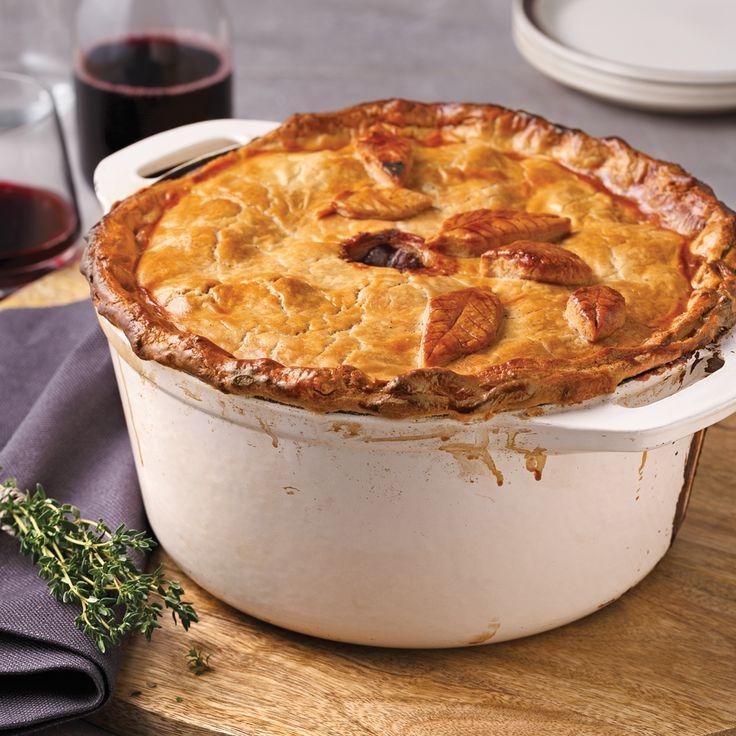 Tourtière du Lac-Saint-Jean - Les recettes de Caty | Food ...