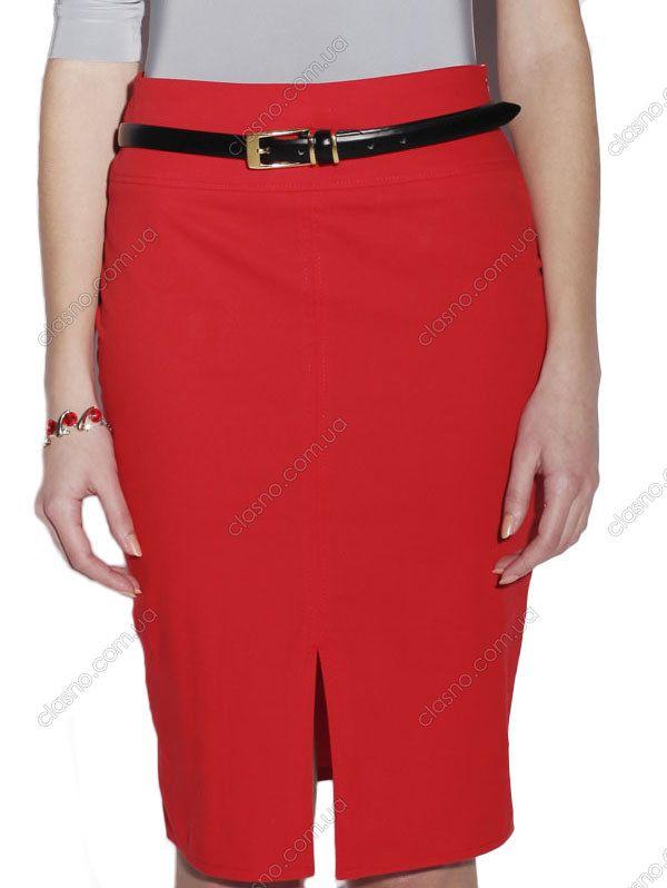 Красные юбки от украинских дизайнеров