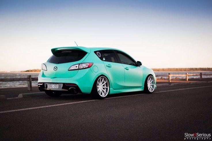 Mazda hatch.