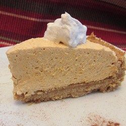 Whipped Pumpkin Pie - My SIL made this on thanksgiving and it was seriously the best pie I have ever had!!