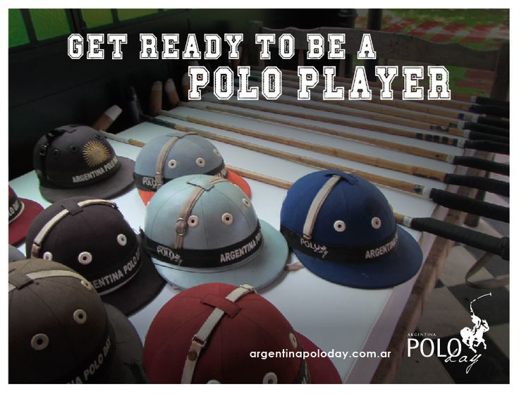 Get ready to play polo!