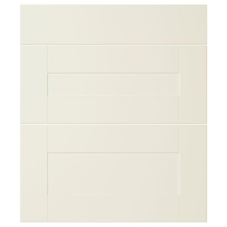 ÄDEL Lådfront set om 3 - off-white, 40x70 cm - IKEA