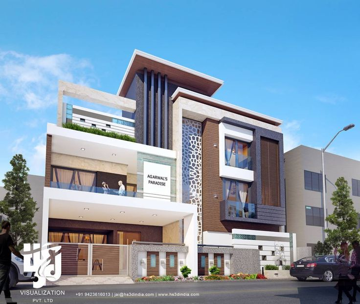 1897 best modern houses images on pinterest for Exterior design of bungalows