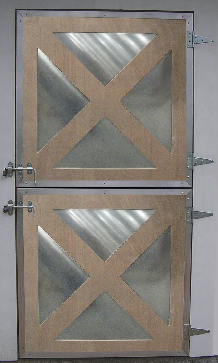 """Add some FLASH to your cross buck dutch doors  without """"custom"""" cost AND without losing the traditional appearance!"""