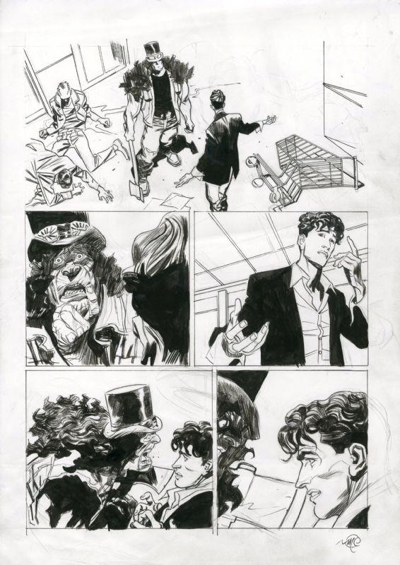 Dylan Dog Color Fest Comic Art