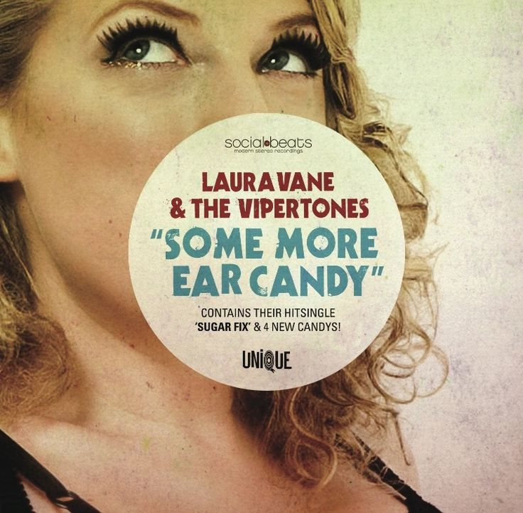 """Laura Vane & The Vipertones """"Some More Ear Candy"""" (EP)"""