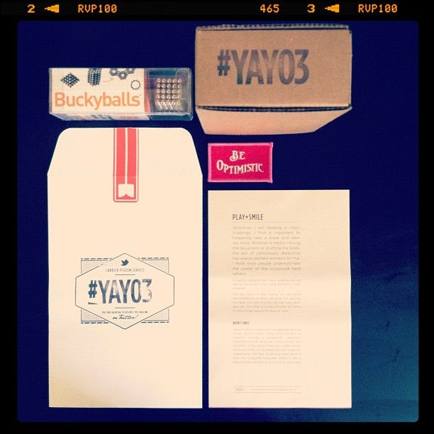 """#yay03"" is here from @Quarterly! Love it!"" from @erindorney via InstagramQuarter Mail, Erindorney Photos, Design Corner"
