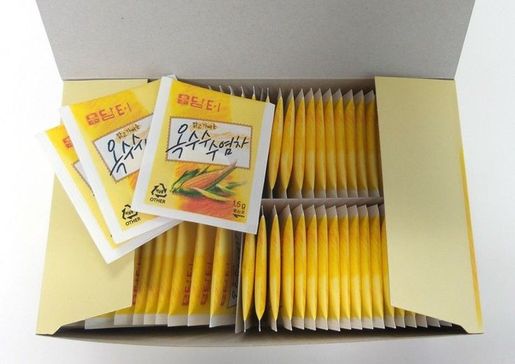 Amanda Seyfried favorite Corn silk tea 80T  Infused tea Korean Brand Damtuh  #Damtuh