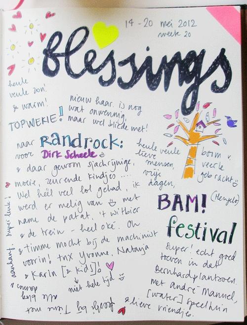 Blessings 20 mei