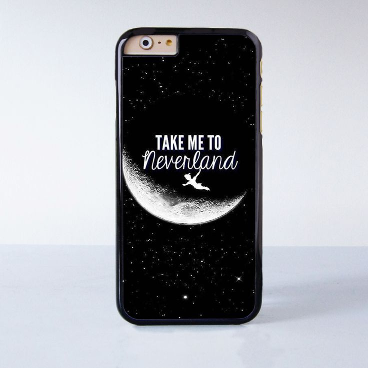 Peter Pan Take me to neverland Plastic Phone Case For iPhone 6 More Style For iPhone 6/5/5s/5c/4/4s