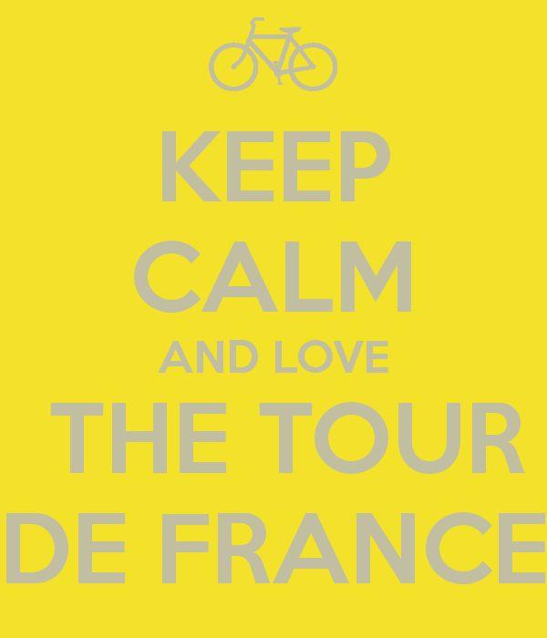 KEEP CALM AND LOVE THE TOUR DE FRANCE - Grand Départ Utrecht 2015 #TDFutrecht