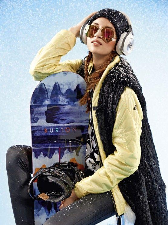zimowe stylizacje skiteam.pl ❄️ #snowboardgirl #skiteampl #burton