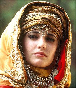 Eva Green as Sibylla in Kingdom Of Heaven...movie