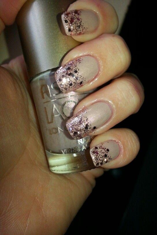 Neutro e glitter