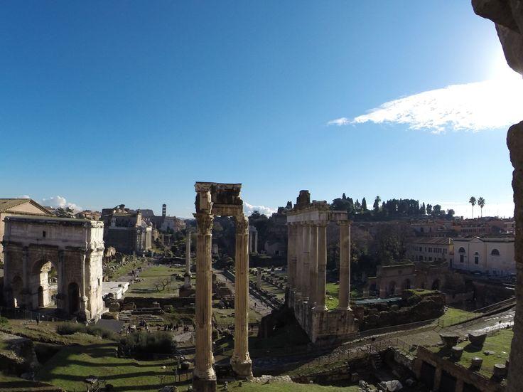 Foro romano. Roma, Italia.