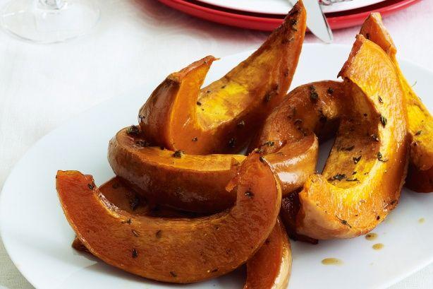 Glazed Roast Pumpkin