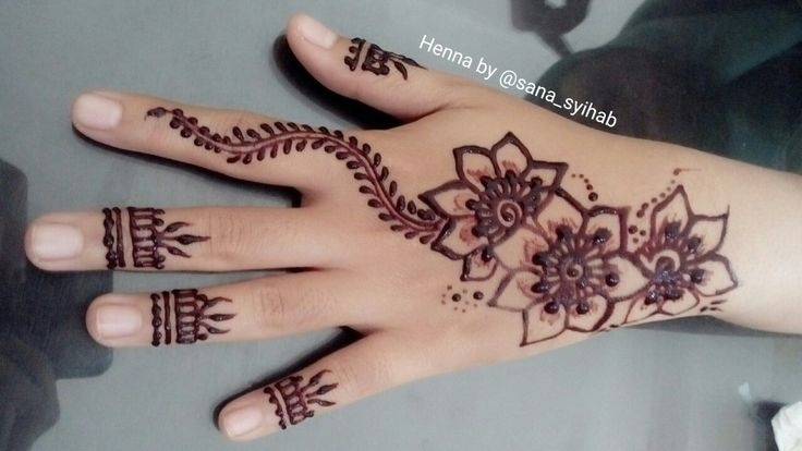 My henna design   Thanks for coming  Dearrrrr