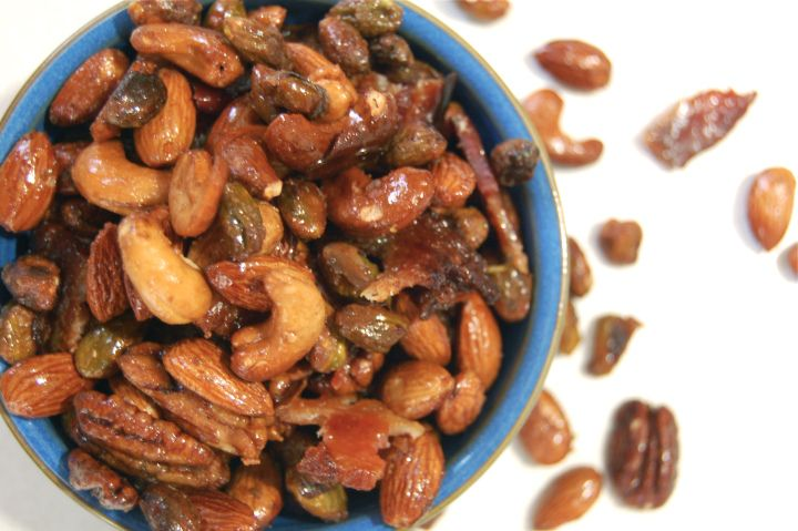 ... candied seven spice almonds recipe dishmaps candied almonds spiced