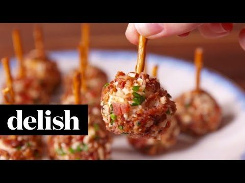 Best Cheese Ball Bites Recipe-How To Make Cheese Ball Bites—Delish.com