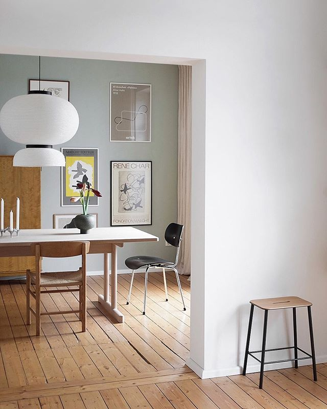Fredericia The J39 Chair By Borge Mogensen Photo From Swantjeundfrieda Fredericiafurniture Borgemogensen J39chair J39 Home Decor Home Apartment Interior
